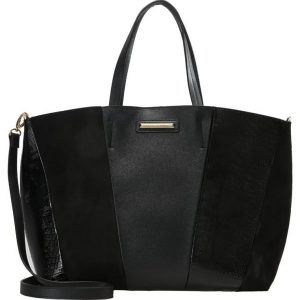 Dorothy Perkins PANEL Bolso shopping black