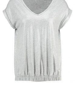 Freequent Camiseta print light grey melange