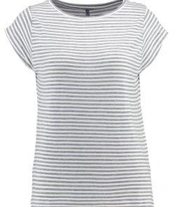 Freequent Camiseta print grey melange