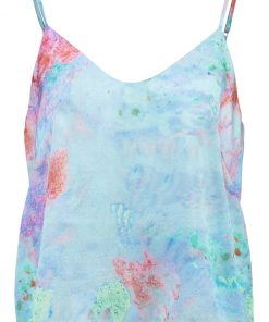 Free People JACKSON Top blue combo