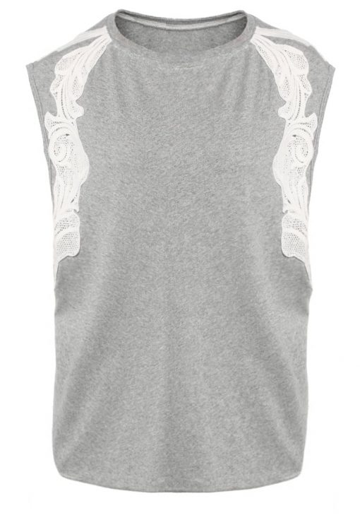 Free People BONSAI Camiseta print grey