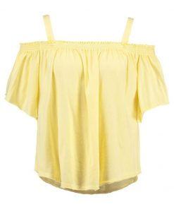 Free People DARLING  Top yellow