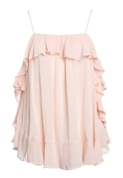 Free People CASCADES Top pink