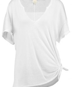 Free People Camiseta print white
