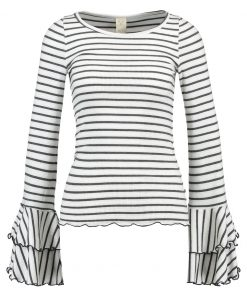 Free People GOOD FIND STRIPE Camiseta manga larga grey