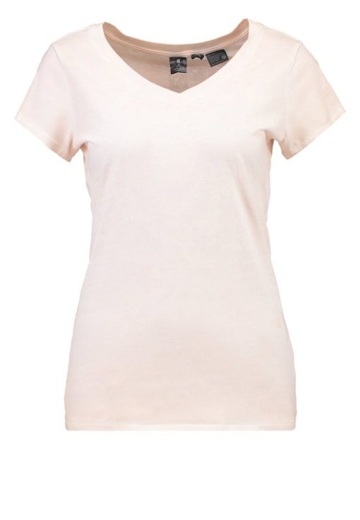 GStar ZADIUM 3D SLIM V T S/S Camiseta básica necta peach
