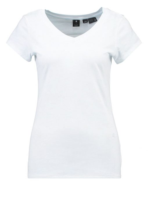GStar ZADIUM 3D SLIM V T S/S Camiseta básica plumbago