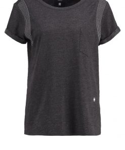 GStar MAIXZA STRAIGHT R T S/S Camiseta print dark black