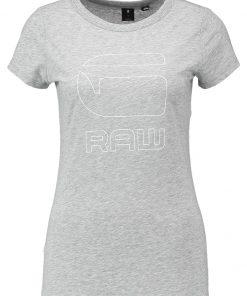 GStar CIRST SLIM R T S/S Camiseta print grey