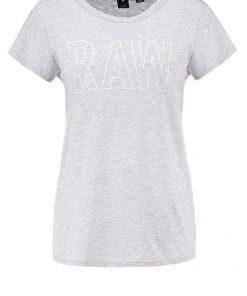 GStar CIRST STRAIGHT R T S/S Camiseta print grey heather