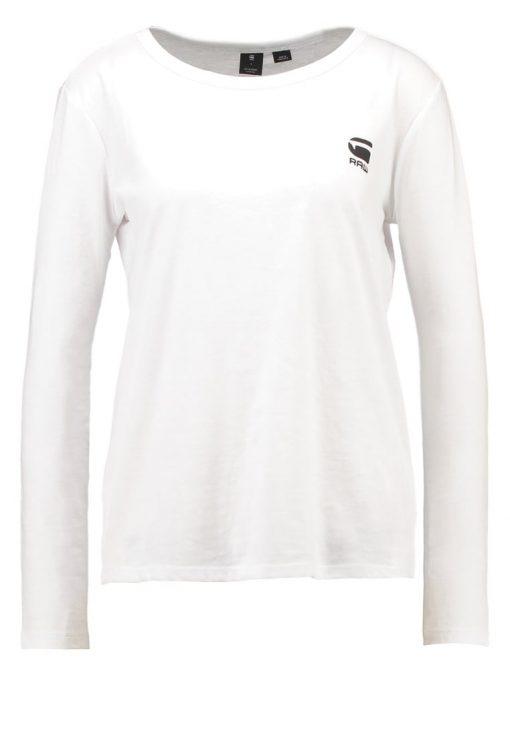 GStar JILING STRAIGHT R T L/S Camiseta manga larga white