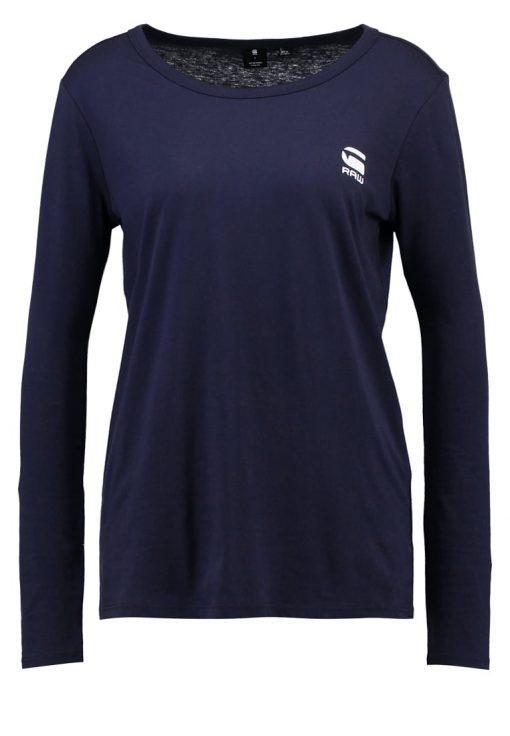 GStar JILING STRAIGHT R T L/S Camiseta manga larga sartho blue