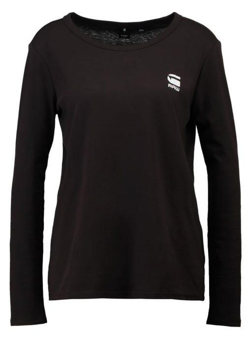 GStar JILING STRAIGHT R T L/S Camiseta manga larga black