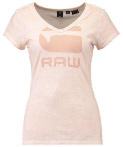 GStar SUPHE SLIM V T S/S Camiseta print necta peach
