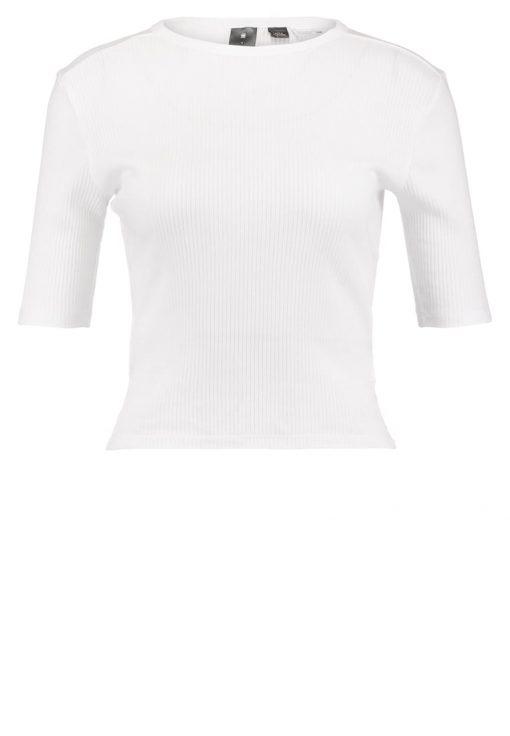 GStar SILBER CROPPED R T S/S Camiseta básica white