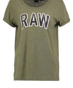 GStar ROVI GRAPHIC SP R T S/S Camiseta print dark moss
