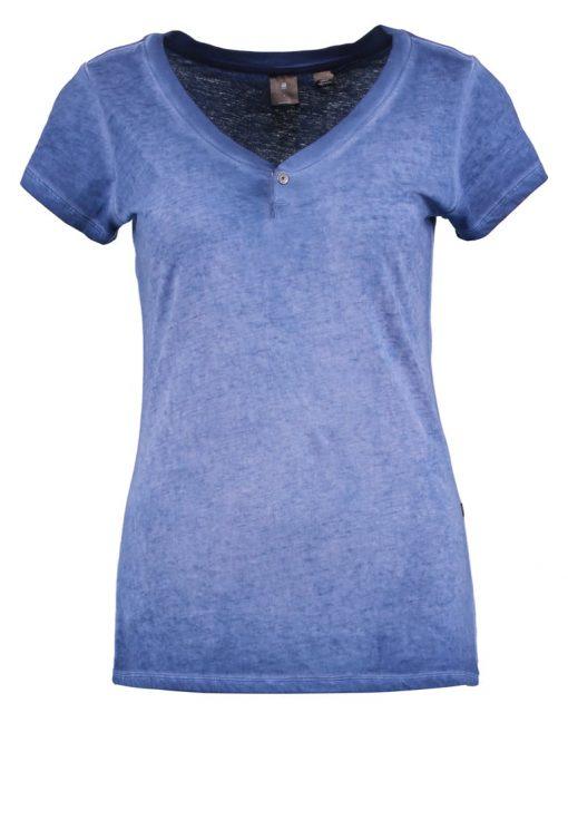 GStar REPIZ SP SLIM V T S/S Camiseta básica swedish blue