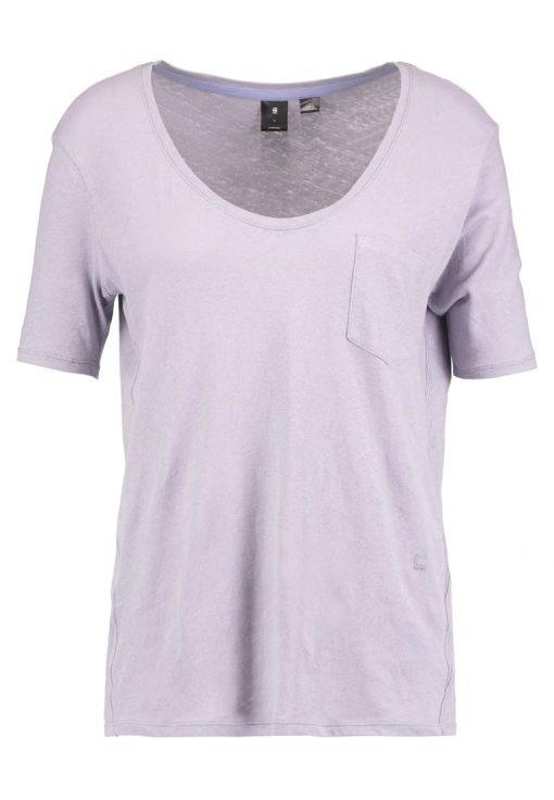 GStar ADISYON STRAIGHT DEEP V T 1/2 SL Camiseta básica light amann
