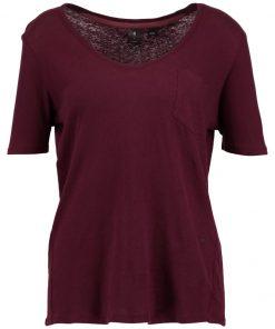 GStar ADISYON STRAIGHT DEEP V T 1/2 SL Camiseta básica maroon