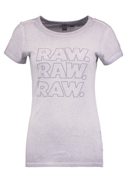 GStar EPZIN SLIM R T S/S Camiseta print light amann