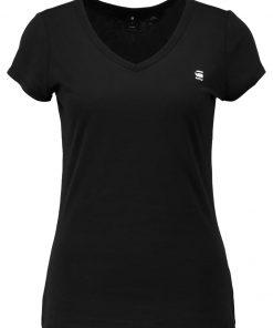 GStar EYBEN SLIM V T S/S Camiseta básica black