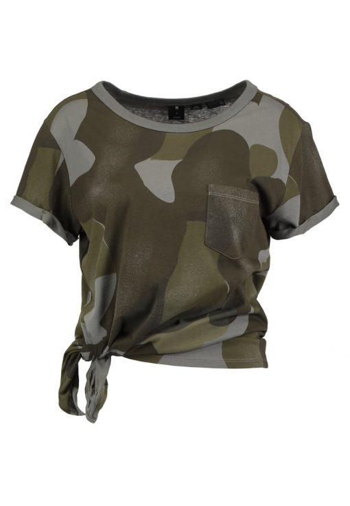 GStar SUNDU CAMO POCKET R T S/S Camiseta print orphus
