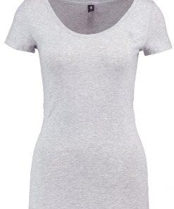 GStar BASE R T WMN CAP SL Camiseta básica grey htr