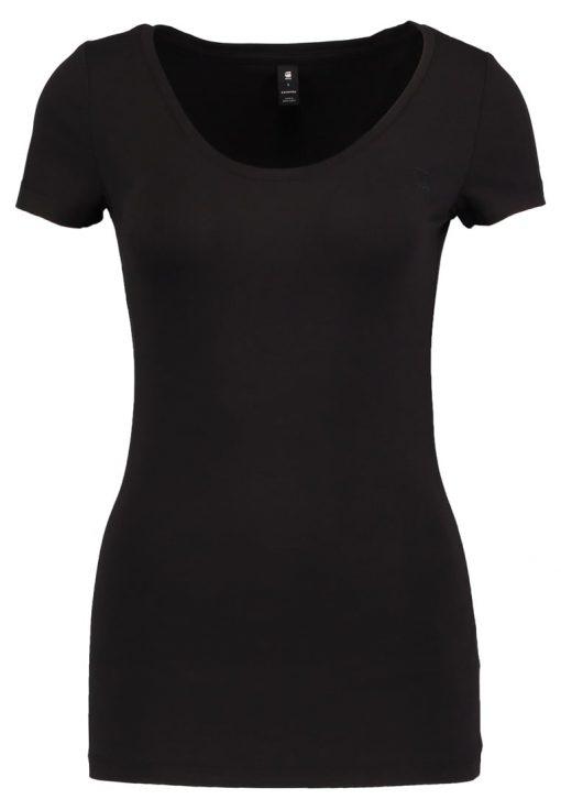 GStar BASE R T WMN CAP SL Camiseta básica black