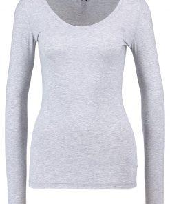 GStar BASE R T WMN L/S Camiseta manga larga grey htr