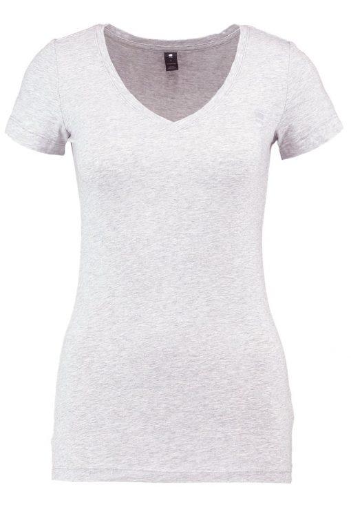 GStar BASE V T WMN CAP SL Camiseta básica grey heather