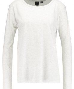 GStar SUNDU KNOTTED STRAIGHT  Camiseta manga larga milk