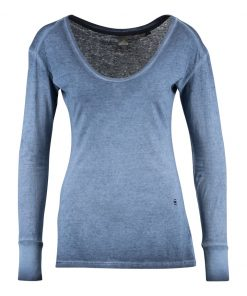 GStar HIKA SLIM Camiseta manga larga dark saru blue
