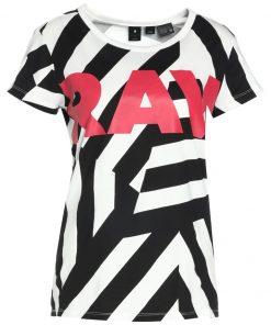 GStar X25 DAZZLE CAMO PRINT Camiseta print milk/black ao