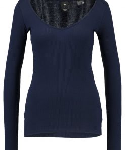 GStar WYVER SLIM Camiseta manga larga sartho blue