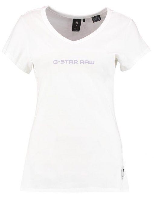 GStar LAJLA SLIM V T S/S Camiseta print white