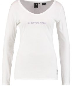 GStar LAJLA GRAPHIC SLIM R T L/S Camiseta manga larga white