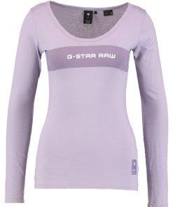 GStar LAJLA GRAPHIC SLIM R T L/S Camiseta manga larga dk lilac
