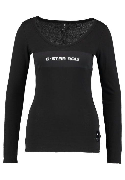 GStar LAJLA GRAPHIC SLIM R T L/S Camiseta manga larga dark black