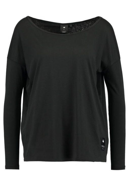 GStar LAJLA R T L/S Camiseta manga larga dark black