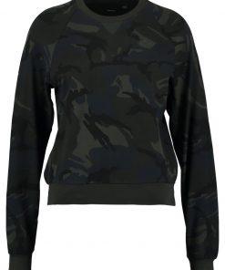 GStar XULA CROPPED R SW RAGLAN L/S Camiseta manga larga asfalt/black