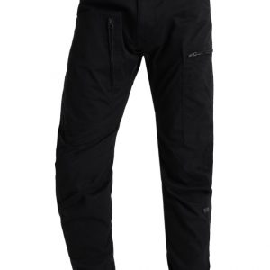 GStar POWEL 3D TAPERED CUFFED Pantalón cargo dark black