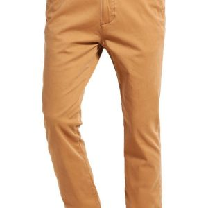 Hollister Co. Pantalón chino khaki