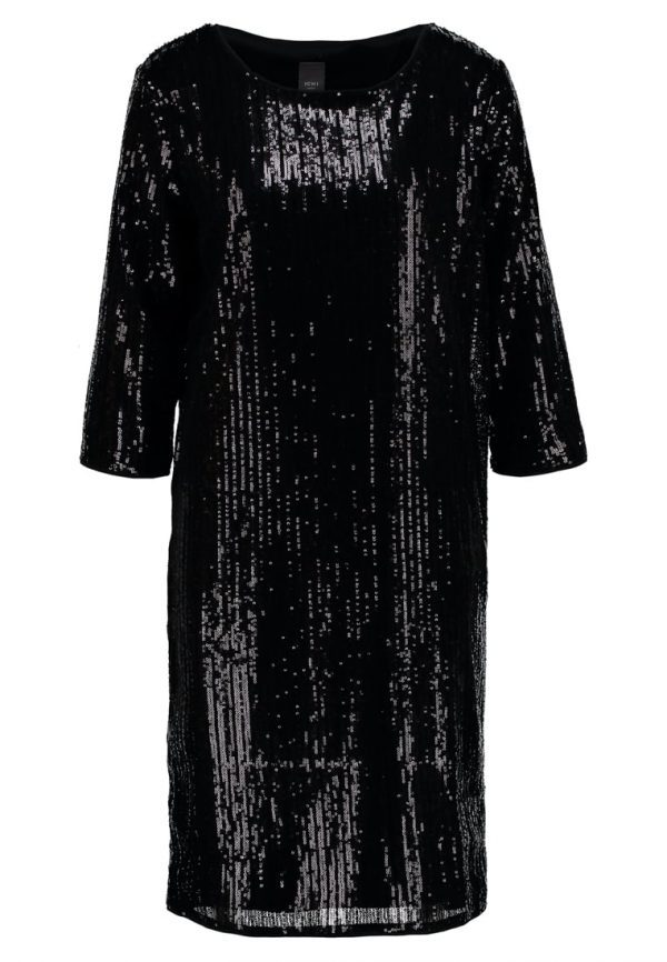 ICHI KEOLA Vestido de cóctel black