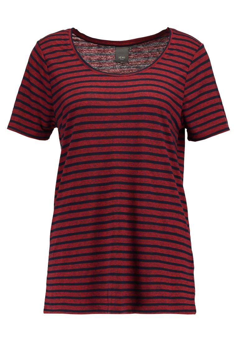 ICHI JASMIN  Camiseta print fiery red