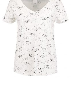 ICHI KLIP Camiseta print cloud dancer