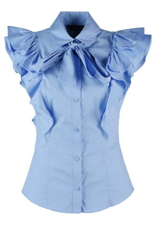Karen Millen SUPER  Camisa blue