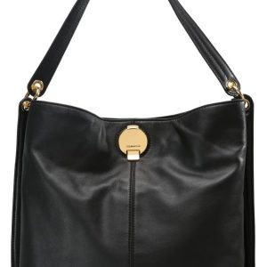 Karen Millen DISC FASTENING COLLECTION LARGE SLING Bolso shopping black