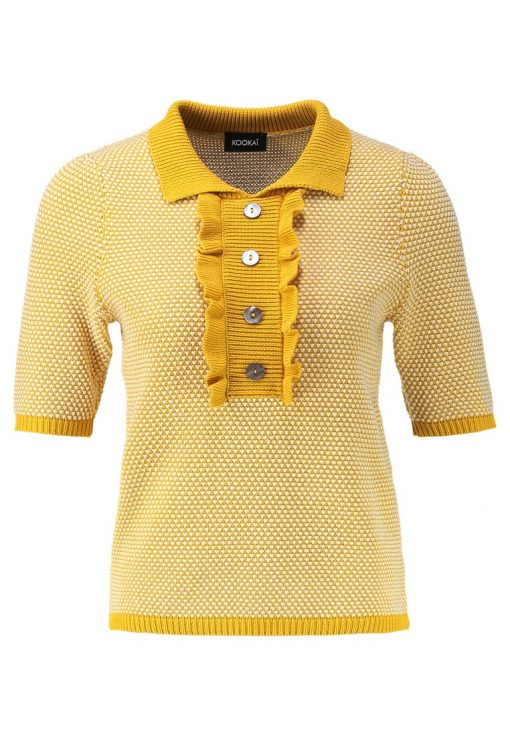 Kookai Jersey de punto yellow