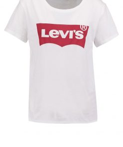 Levi's® THE PERFECT Camiseta print woodgrain batwing/white