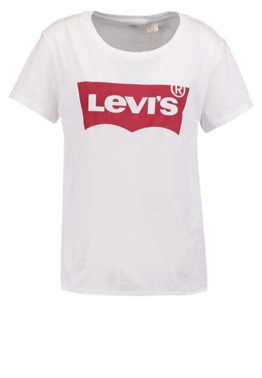 Levi's® THE PERFECT Camiseta print woodgrain batwing/white